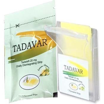 Tadavar Oral Strips 20 mg